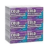 HealthA2Z Cold Multi-Symptom Nighttime, 24 Packs of 12 Caplets(288 Caplets Total), Value Package