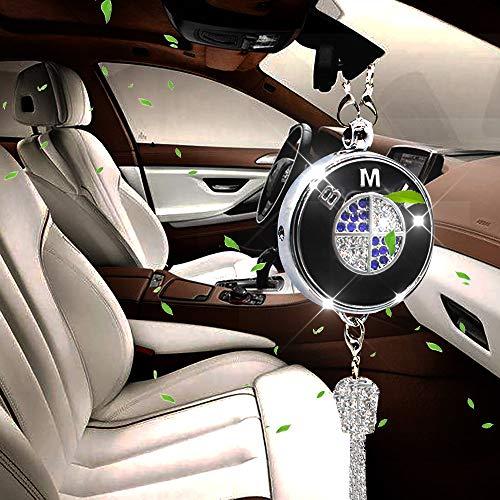 VILLSION Car Air Freshener Perfume Ornament Pendant Air Refreshing Rearview Mirror Decoration