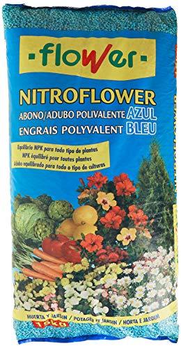 Flower 10539 - nitroflower - abono polivalente Azul, 15 Kg