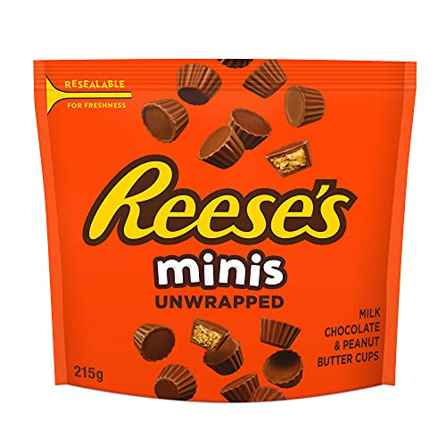 Reese's minis milk chocolate peanut butter cups candy