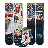 Golden State Warriors City Star Crew Socks Size Medium 5-10 - Kevin Durant #35
