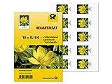 Markenset 'Winterling', 0,10 €, 10er-Set selbstklebende Briefmarken