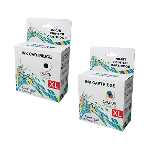 [FULL SET] = 2 Ink Cartridges Replacement for Dell Series 21 ll-In-One P513W, P713W, V313, V313W, V513W, V515W, V51, V715W