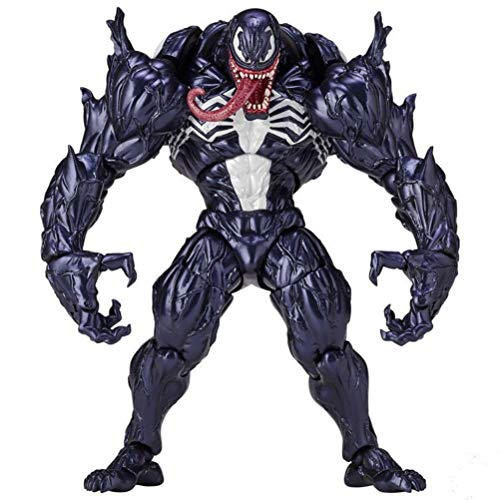 YEKKU Venom Model Toy, Venom Figur Puppe Spielzeug Anime Figur Puppen Ornament Kreative Anime Toy Collection Skulptur Ornamente Home Decoration