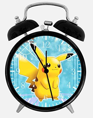 Pikachu Pokemon W43 Wecker, 9,5 cm, Raumdekoration