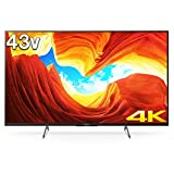 ソニー SONY 43V型 液晶 テレビ ブラビア 4Kチューナー 内蔵 Android TV KJ-43X8500H (2020年モデル)