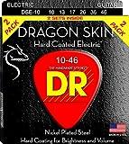 DR Strings DRAGON SKIN Electric Guitar Strings (DSE-2/10)