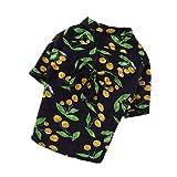 PZSSXDZW Ropa para Mascotas Moda de Playa Primavera Camisa de Perro Ropa para Perros,Black,XXX-Large