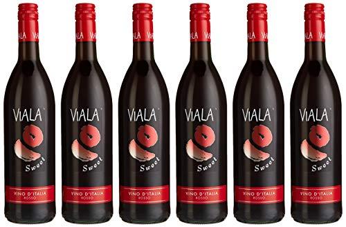 Viala Sweet Rotwein (6 x 0.75 l)
