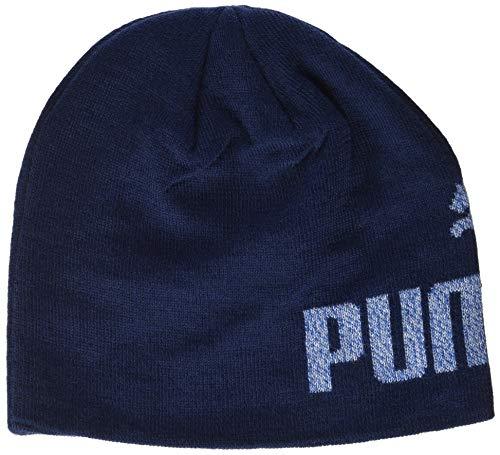 PUMA Ess Logo Bonnet Peacoat/NO 1 FR : Taille Unique (Taille Fabricant : Taille Unique)