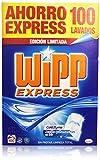 Wipp Express Detergente en Polvo, 100 lavados, 6 kg