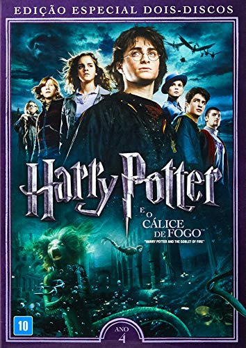 Harry Potter E O Calice De Fogo [DVD]