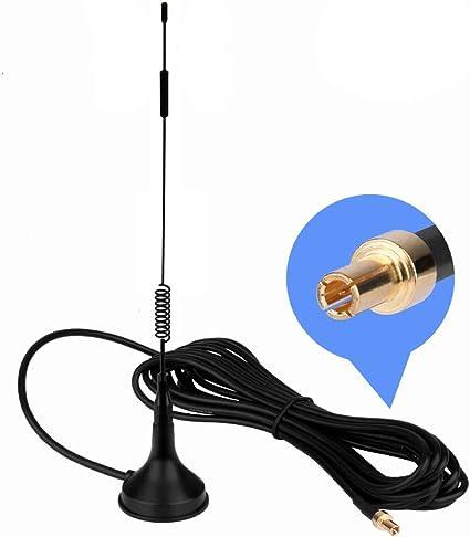 TS9 4G Antena, LTE Antenna Dual 12dBi Alto Ganancia Red Ethernet Al Aire Libre Antena Receptor Amplificador Booster para WiFi Router Banda Ancha Móvil
