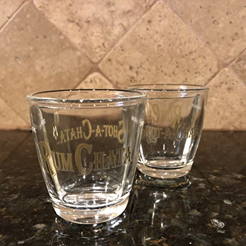 Rum Chata Split Shot Glasses (Set of 2)