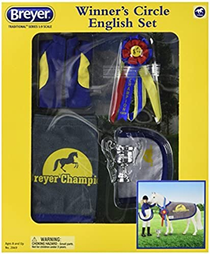 Breyer Winners' Circle Accessory Set - English - Traditional Doll by Breyer