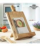Kochbuchhalter aus Holz