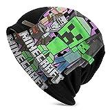 Min-Ecraft Adult Men 's Knit Hat - Berretto quotidiano deliziosamente morbido in maglia fine
