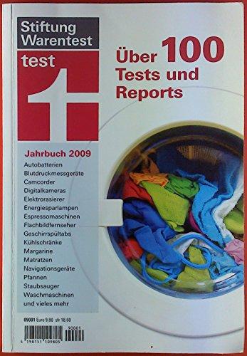 Stiftung Warentest Jahrbuch 2009. Über 100 Tests und Reports. Autobatterien - Blutdruckmessgerät - Camcorder - Digitalkameras - etc.