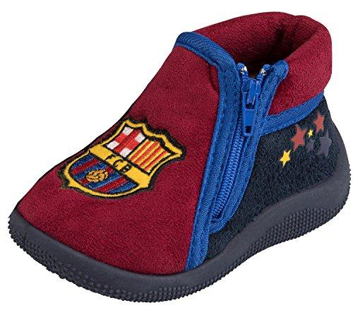 FC Barcelona Barca Hausschuhe, offizielle Kollektion, Babygröße, für Jungen, Baby Junge, blau, 23