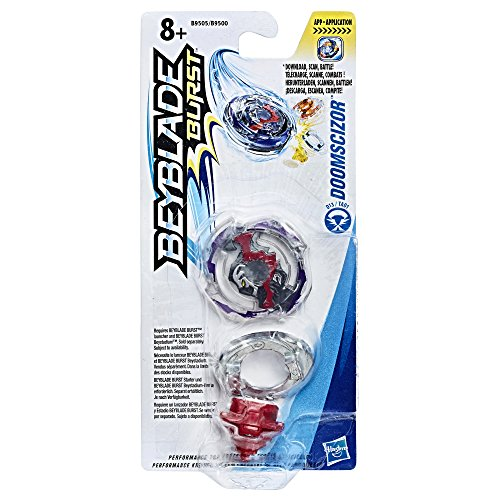 Hasbro Beyblade Burst B9505ES0 - Single Top Doomscizor, Kreisel