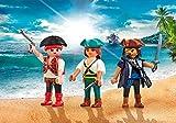 PLAYMOBIL Pack de 3 Piratas 9884