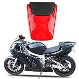 Protector de Cubierta de Asiento de Moto Universal Resistente al Desgaste para Todas Las Estaciones Ecisi Funda de Asiento de Motocicleta de dise/ño de Tela Oxford y PU de Doble Cara 2 en 1