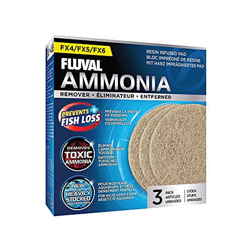 Fluval Fluval FX4/6 Almohadilla Elimina Amonia,3pcs 100 g