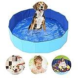 SYCASE Pliable Chien Paddling Pool PVC Chien Pet Enfants Bain...