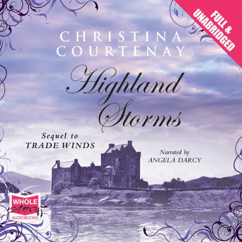 Highland Storms audiobook cover art