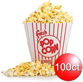 1326 Great Northern Popcorn 100 Movie Theater  Popcorn Buckets 85 Ounce Open Top