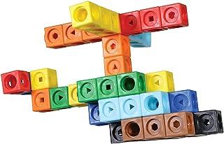 Learning Resources LSP9332-UK MATHLINK Cubes Early Maths Activity Set-MATHMOBILES, Multi