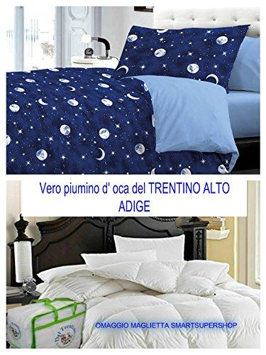 BLACK FRIDAY ANGEBOT FÜR GIORNEN !!! Der Überwurf für Doppelbett, hergestellt in Italien, für Haus von SMARTSUPERSHOP + Bettbezug für Doppelbett LUNA COSMO -