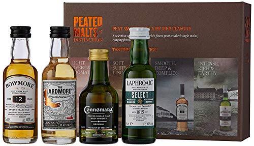 Peated Malts Of Distinction - Coffret De 4 Irish Whiskey Et Ecossais (4 X 0.05L)