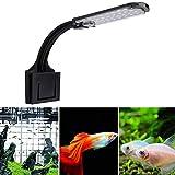 Voluxe Luz LED para acuarios, luz para peceras, Interruptor de Sensor liviano Duradero para decoración de Interiores, iluminación para peceras