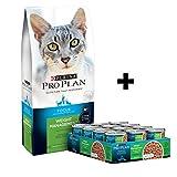 Purina Pro Plan With Probiotics, Grain Free Dry Cat Food; FOCUS Weight Management Turkey & Egg - 12.5 lb. Bag