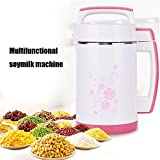 Multifunctional Soymilk Machine, Automatic Hot Soy Milk Maker, 360° Heating, Efficient Grinding, Easy
