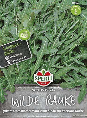 84553 Sperli Premium Rucola Samen | wilde Rauke Samen | Rucola Saatgut | Rukola Samen | wilde Rauke Saatgut