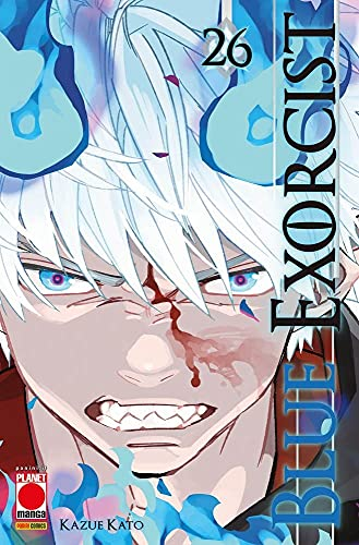 Fumetto Blue Exorcist N° 26 - Manga Graphic Novel 120 - Planet Manga – Panini Comics – Italiano