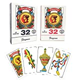 Spanish Playing Cards 2 Packs, Puerto Rico Playing Cards, PVC Plastic...
