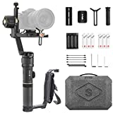 ZHIYUN Crane 2S Combo, 3-Axis Handheld Professional Gimbal Stabilizer with Mini Dual Grip & Extra Batteries