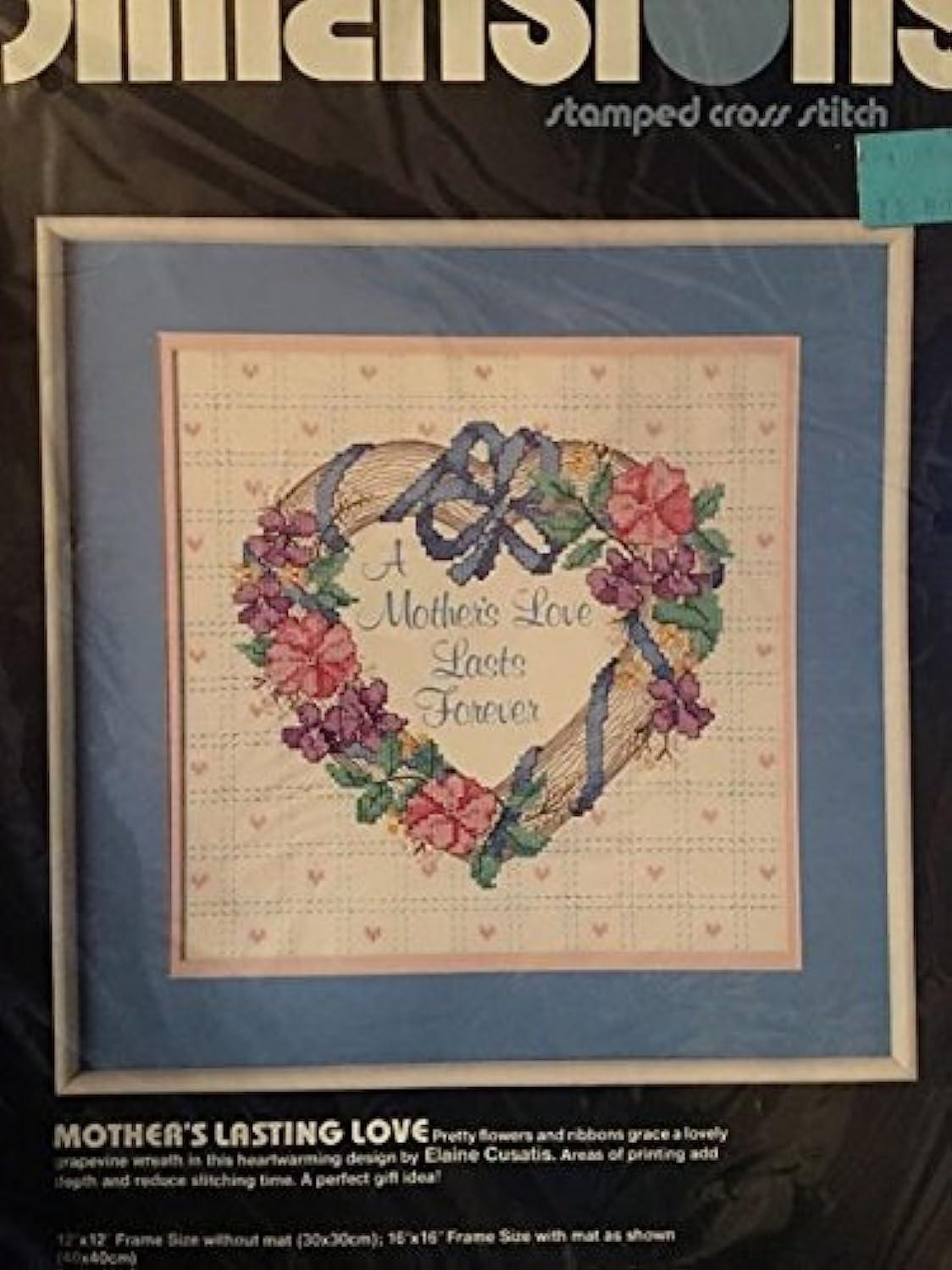 Dimensions 3072 Stamped Cross Stitch Kit - Mother's Lasting Love adsxizjailyvdb