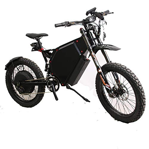 12000w 75mph electric bike full suspension mountain bike
