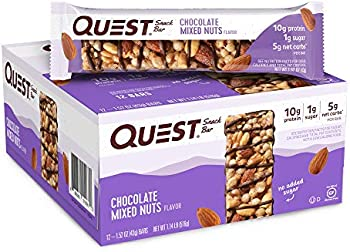 12-Pack 1.52-Oz Quest Nutrition Chocolate High Protein Snack Bars