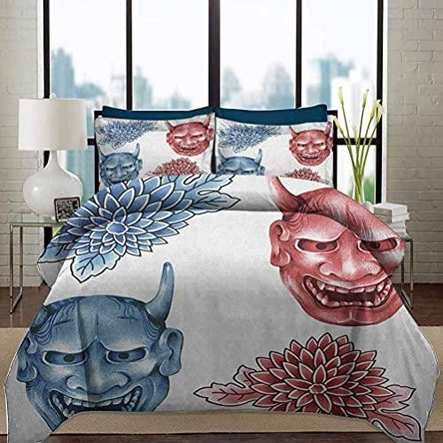 HARXISE Bettwäsche Bettbezug-Set...