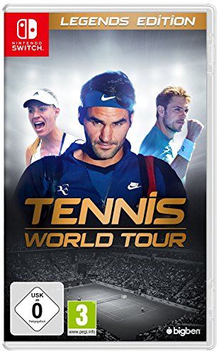 Tennis World Tour Legends Edition SWITCH