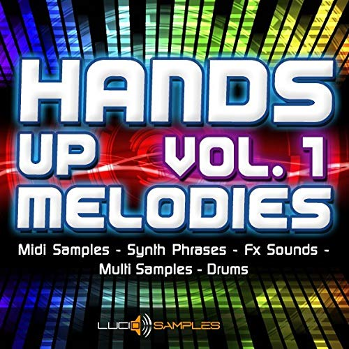 Hands Up Melodies Vol. 1 - Collection of Midi Samples & Synth Phrases  AIFF, SF2, MIDI Download