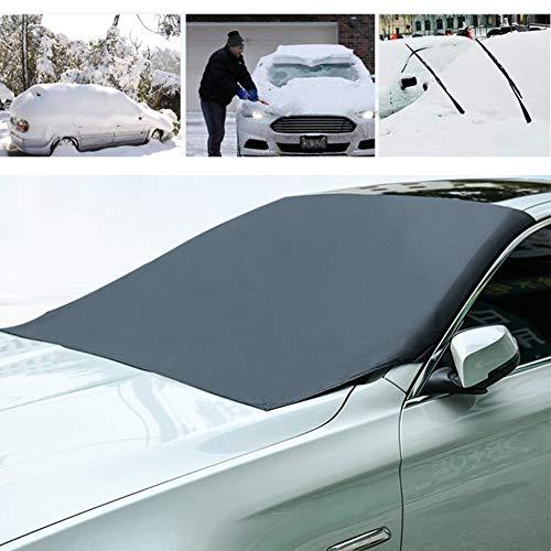 PoeHXtyy Windschutzscheibenabdeckung für EIS- und Schneefrostschutz Wasserdichter Windschutzscheibenschutz für die meisten SUV-PKWs