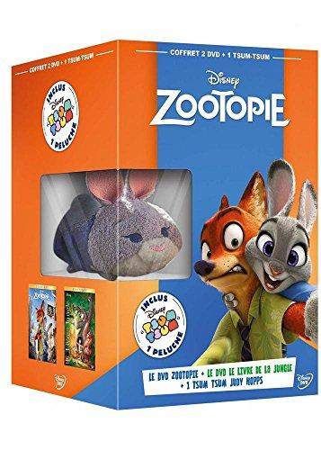 Coffret zootopie ; le livre de la jungle [FR Import]