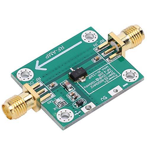Amplificador de RF, módulo de amplificador de RF de baja ganancia de ruido de 35dB Módulo amplificador de banda ancha RF de 50-6000MHz