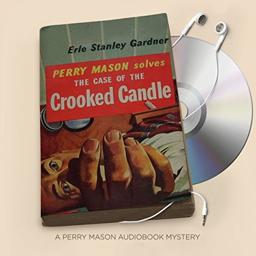 The Case of the Crooked Candle audiobook cover art